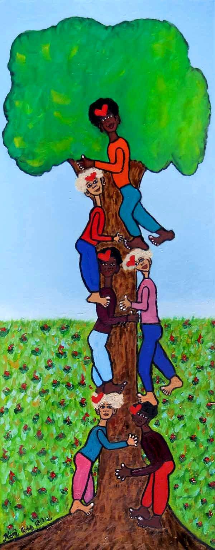 Hug a tree, together